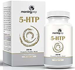 5-HTP Supplement 60 count 200mg Per Caps with added Vitamin B6 By Morning Pep, 5 HTP Is A Natural Appetite Suppressant That Helps Improve Your Overall Mood Relaxation And A Restful Sleep