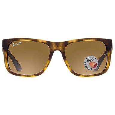 Óculos de Sol Ray Ban Justin L Rb4165l 865 T5 55 Tartaruga Fosco ... 826f95899a