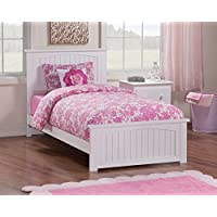 Nantucket Bed with Matching Foot Board, Twin, White