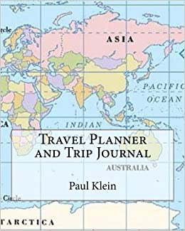 travel planner and trip journal inspirational 4 trips large 8 x10