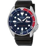 Men Seiko SKX009K Dive Automatic 200m Diving watch Rubber Band