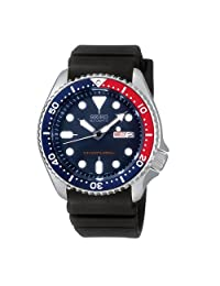 Mens Watch Seiko SKX009K Dive Automatic 200m Diving watch Rubber Band