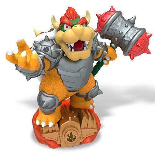 (Activision Compatible with Nintendo Only Skylanders SuperChargers: Hammer Slam Bowser Individual Character )