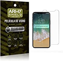 Película de Vidro [BLINDADA] Apple iPhone X - Armyshield