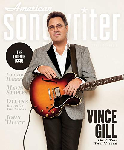 American Songwriter Magazine (January/February, 2019) The Legends Issue Vince Gill Cover (Music Magazine Songwriter)