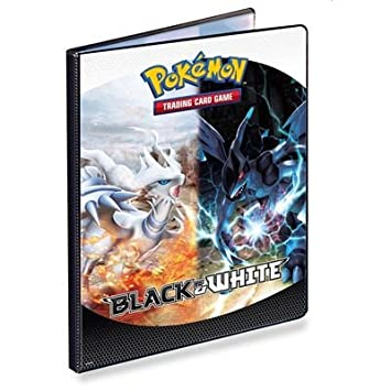 Amazon.com: Pokemon Black White 9 Pocket Portfolio Reshiram ...