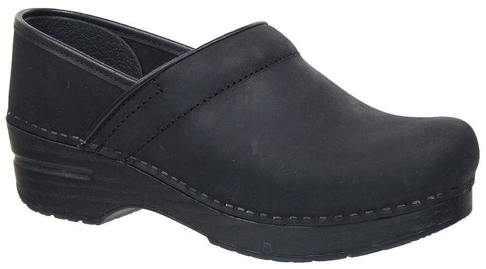 Black Oiled Dansko Women's Professional Clog