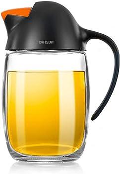 GM Gmisun No Drip Olive Oil Dispenser Bottle with Automatic Cap
