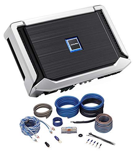 Alpine X-A90M 900 Watt Mono X-Series Car Audio Amplifier Class-D+Copper Amp ()
