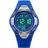 ALPS Bambini Multi Funzione LED digitale impermeabile orologio sportivo