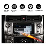 2014-2018 Toyota 4Runner Touch 2 Car Navigation Screen Protector, RUIYA HD Clear TEMPERED GLASS Car In-Dash Screen Protective Film (6.1-Inch)