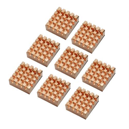 8x IC DDR RAM VGA Copper Memory Chipset Cooler Heat Sink Heatsinks High Thermal