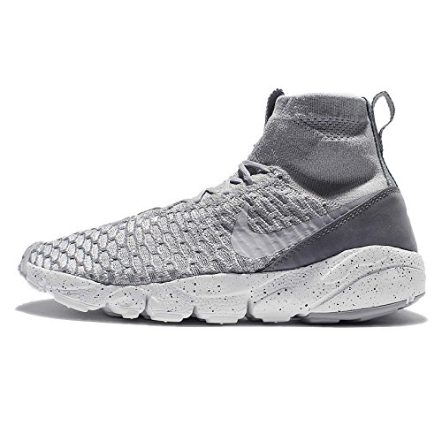 Nike Mens Air Footscape Magista Flyknit, WOLF GREY/WOLF GREY-COOL GREY, 12.5 M US