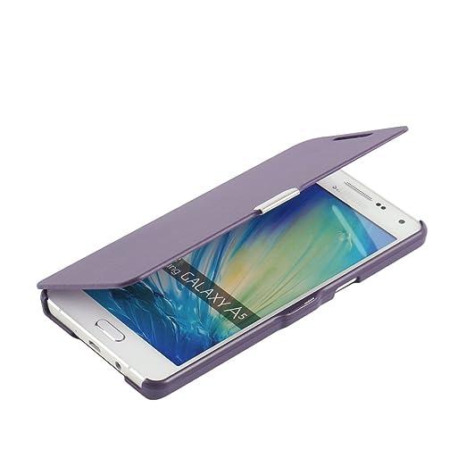 58 opinioni per Cover Samsung Galaxy A5 (2015), MTRONX Custodia Case Ultra Folio Flip Stile