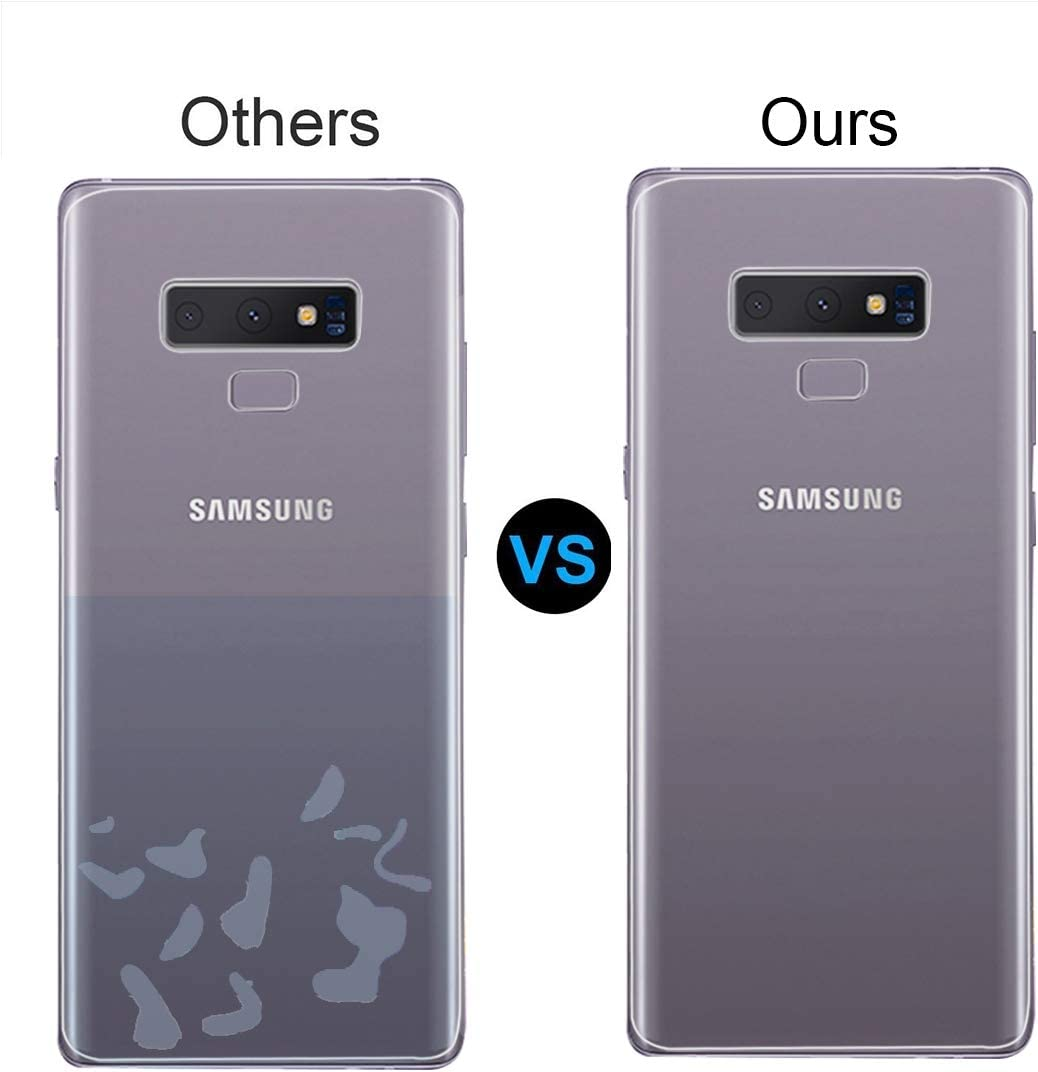 Color : Color2 LGYD for 0.1mm HD 3D Curved PET Back Full Screen Protector for Galaxy Note 9