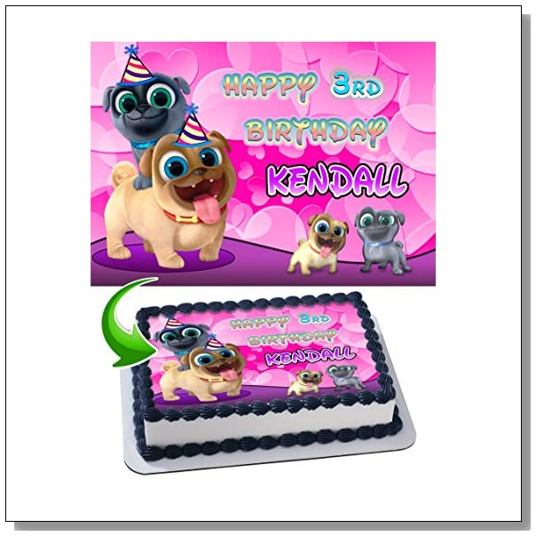 Ideas Girl S Puppy Dog Pals Birthday Party Blue Crystal Sky