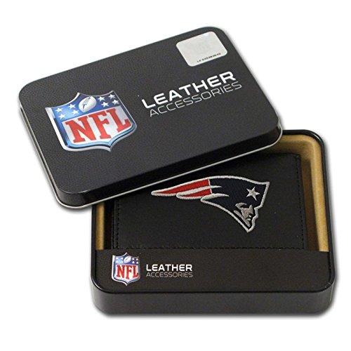 NFL Embroidered Tri-Fold Wallet - Licensed Embroidered Tri Fold