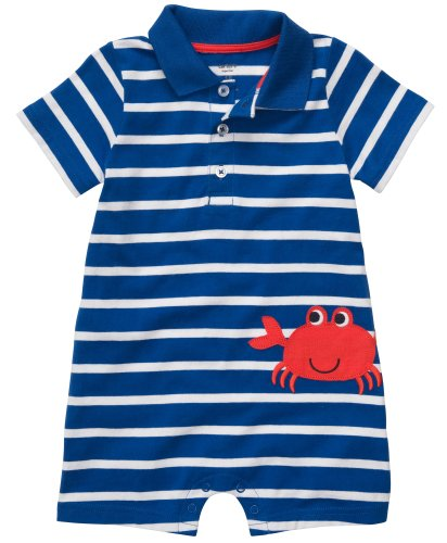 Carters Baby Boys' Crab Polo Romper