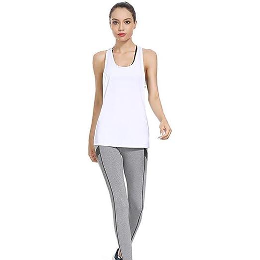 TD Conjunto De Ropa De Yoga Chaleco Hembra Pantalones De ...