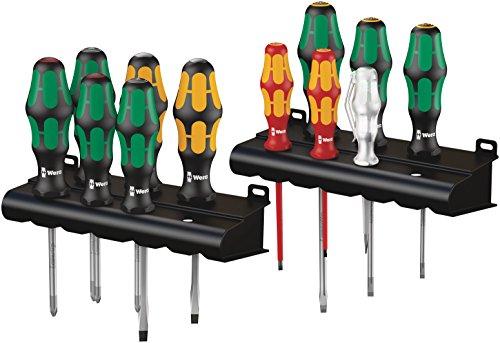 Wera 05051010001 Kraftform Screwdriver Set (12 Piece) by Wera (Image #1)