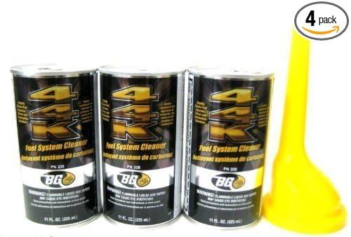 3 Pack Bg 44k Fuel System Cleaner w/ Bg Funnel - 3 Cans by BG