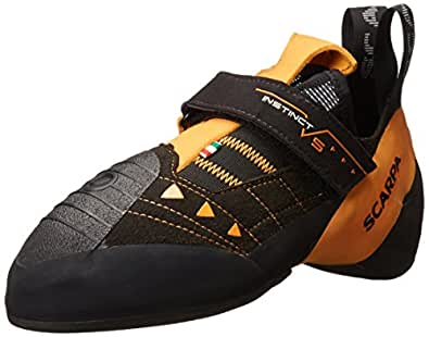 SCARPA Men's Instinct VS Climbing Shoe,Black,39 EU/6.5 M US