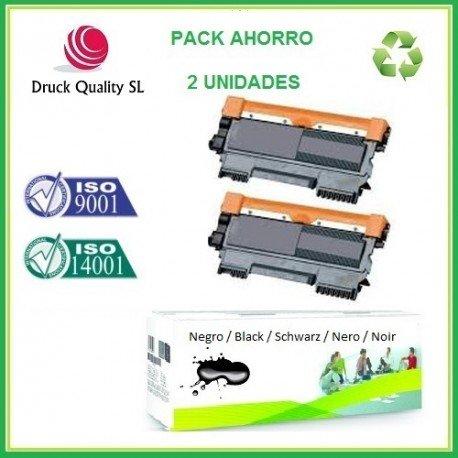 DQ TN1050, Pack Ahorro 2 Uds. Toner Compatible para ...