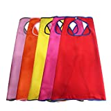 Best Gift-Hero Friends Gifts For Teen Girls - iROLEWIN Superhero Birthday Party- 5 Girl Capes Review