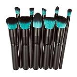 Susenstone 10pcs Makeup Brushes Set Powder Foundation Eyeshadow Tool (Black) - Best Reviews Guide