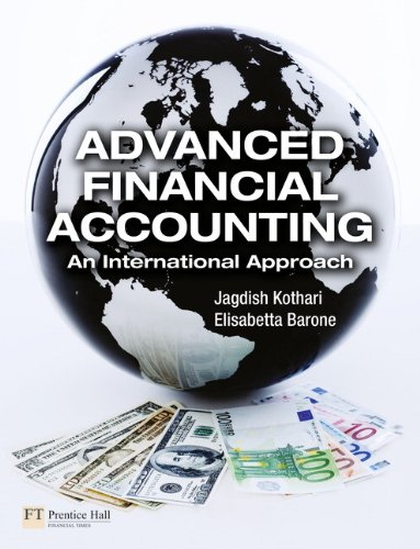 Advanced Financial Accounting: An International Approach