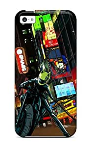 AuDAYeH2752DPCoH Snap On Case Cover Skin For Iphone 5c(celty Downtown)