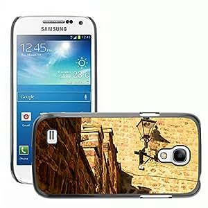 Print Motif Coque de protection Case Cover // M00155093 Muro de piedra Fondo de la // Samsung Galaxy S4 Mini i9190