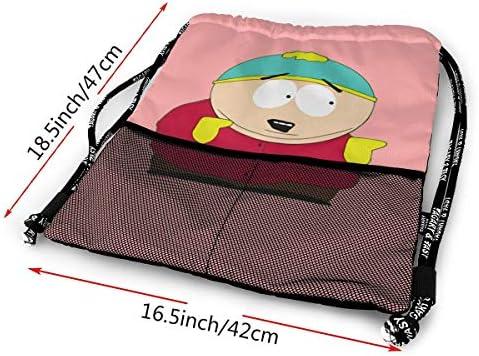 South Park サウスパーク5 ナップサック アウトドア ジムサック 防水仕様 バッグ 巾着袋 スポーツ 収納バッグ 軽量 バッグ 登山 自転車 通学・通勤・運動 ・旅行に最適 アウトドア 収納バッグ 男女兼用 ジムサック バック