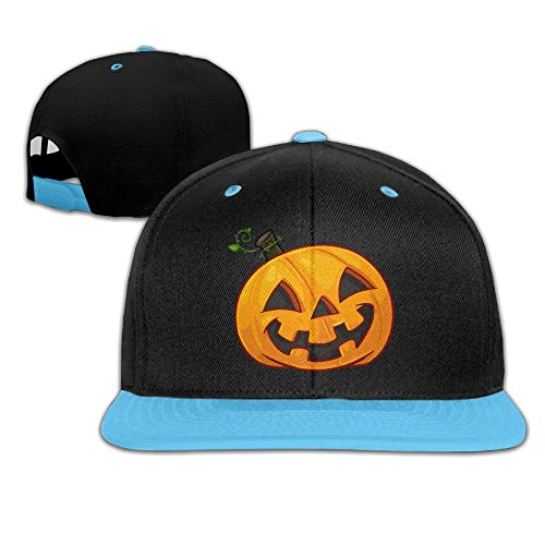 Pumpkin Face Halloween Kids Boy's & Girl's Outdoor Hip Hop Camping Cotton Hats (School Appropriate Halloween Movies)
