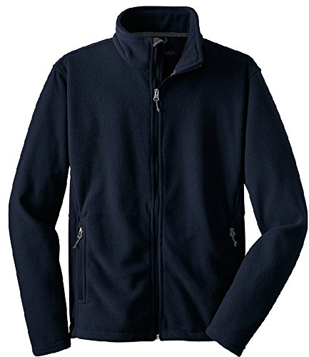 Joe's USA Mens Soft and Cozy Fleece Jackets in 10 Colors. Sizes: Adult XS-6XL