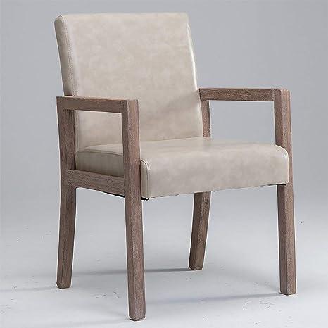 Amazon.com: Grrlloki Silla moderna minimalista retro silla ...