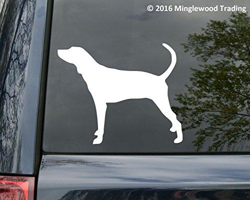 Plott Hound Dog vinyl decal Sticker 5