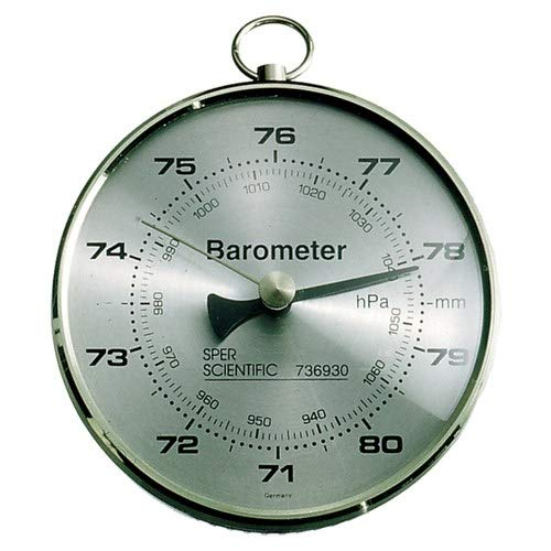 Sper Scientific 736930, Dial Barometer (Pack of 6 pcs)