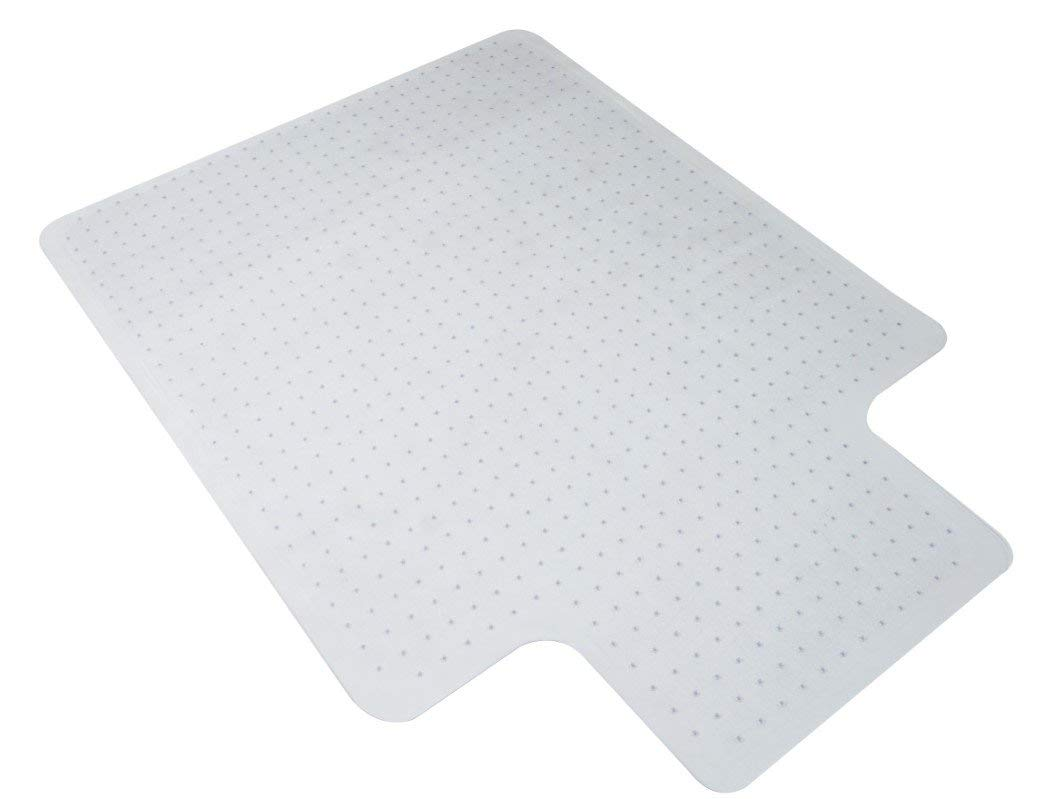 Essentials Chairmat for Carpet - Carpet Floor Protector for Office Desk Chair, 36 x 48 (ESS-8800C) (Renewed)