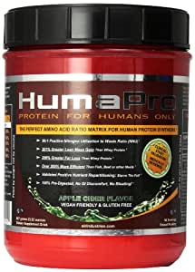 ALR Industries Humapro,  Protein Matrix Formulated for Humans, Waste Less. Gain Lean Muscle, Apple Cider -  667g(23.52 oz)
