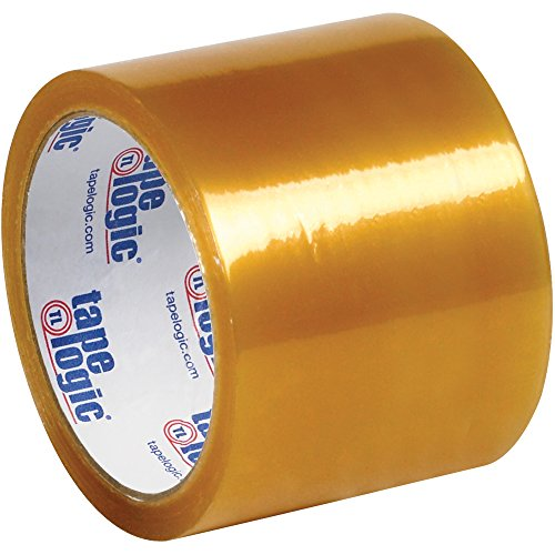 Boxes Fast Tape Logic #51 Natural Rubber Tape, 2.2 Mil, 3