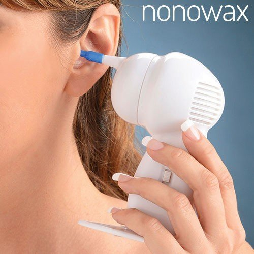 18 opinioni per Nonowax Pulitore Orecchie Aspiratore Elettrico per Pulizia Elimina Togli Cerume