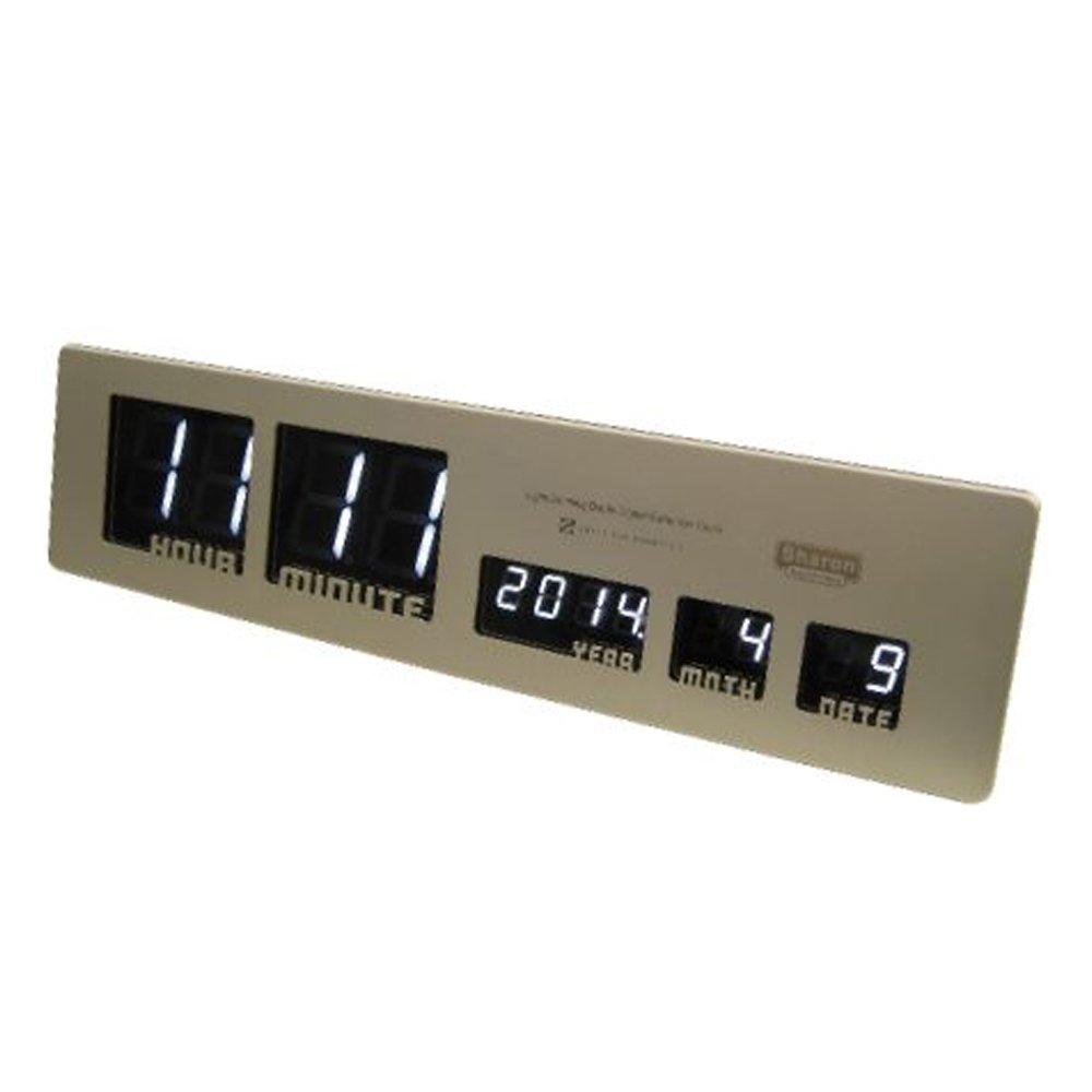 HOUSE USE PRODUCTS LED時計 Sharon ゴールド ACL082 B00L7I1SSC ゴールド ゴールド