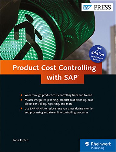 Product Cost Controlling with SAP Product Costing: SAP CO-PC (3rd Edition) (SAP PRESS)