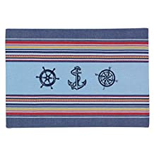 Kay Dee Designs Open Seas Woven Printed Placemats (Set of 4)