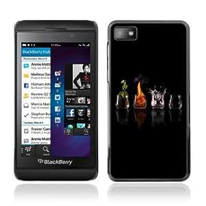 YOYOSHOP [Different Elements] Blackberry Z10 Case