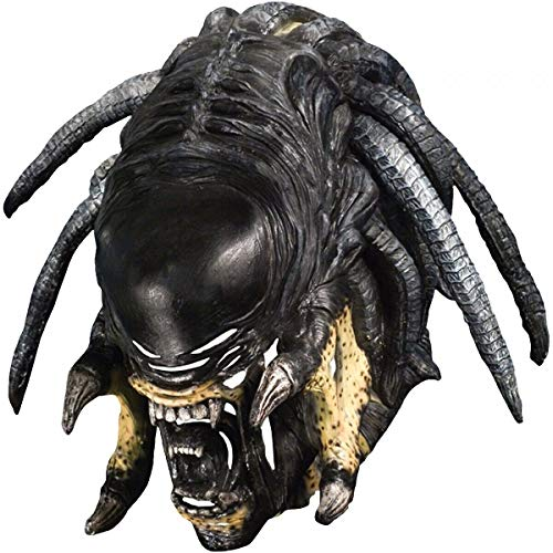 Predator-Alien Hybrid Deluxe Mask Costume Accessory Adult Halloween Fancy Dress