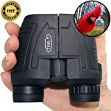 Best Binoculars for Adults & Teens, High Power Low Price, Free Warranty. 12x25 Compact HD, Light & Rugged. Ideal for Bird Watching, Concerts, Hunting & All Spectator Sports. New To Amazon, Best Value!