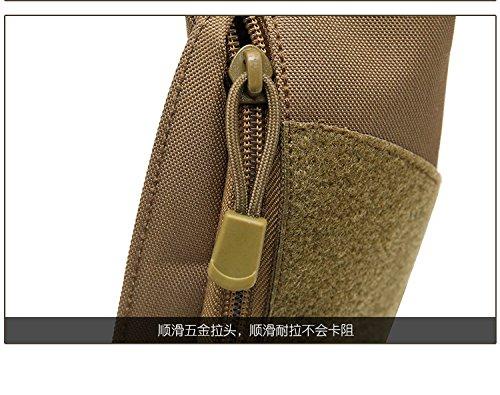 Mefly Los bolsillos del hombre nuevo, el hombre bolsas de deporte, deportes al aire libre, bolsas impermeables Wear-Resistant,Selva Digital,Tamaño especial
