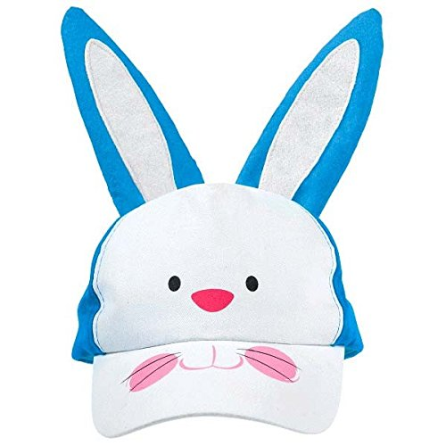 [Egg-stra Special Children's Easter Bunny Cap Party Accessory, Foam, 10